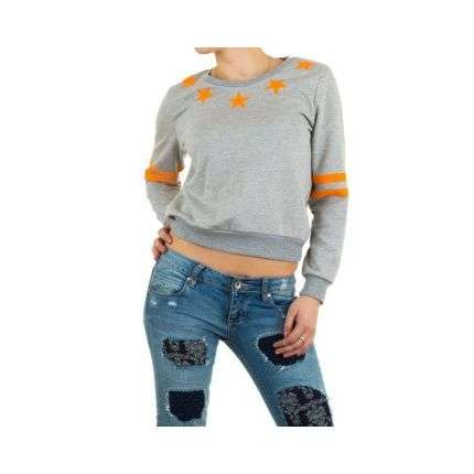 Damen Pullover von Julie By Jcl - grey