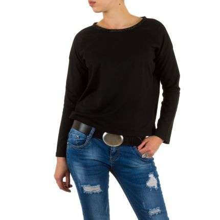 Damen Sweatshirt von Julie By Jcl  - black