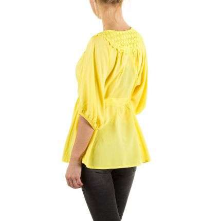 Damen Bluse von Jcl - yellow