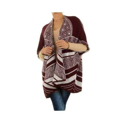 Damen Pullover Gr. one size - wine