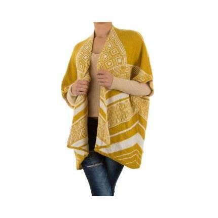 Damen Pullover Gr. one size - yellow