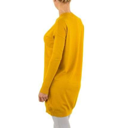 Damen Pullover von Jcl - yellow