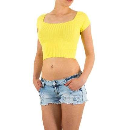 Damen Top Gr. one size - yellow