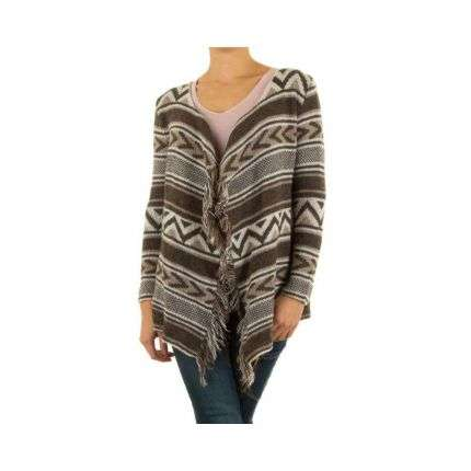 Damen Pullover Gr. one size - brown