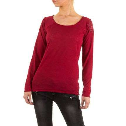 Damen Shirt von Jcl - red