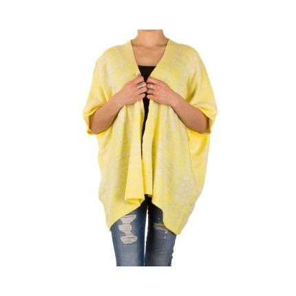 Damen Pullover Gr. one size - yellow²