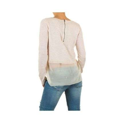Damen Pullover Gr. one size - cream
