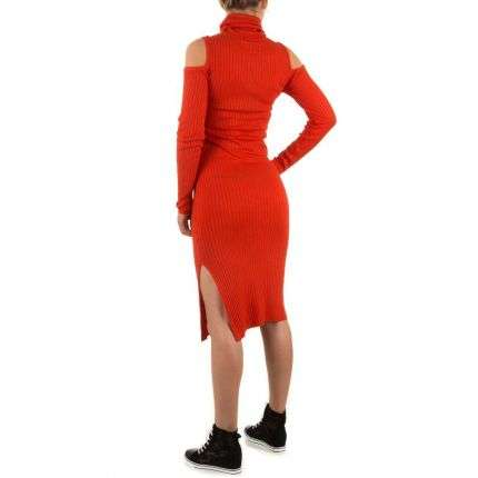 Damen Kleid Gr. one size - red