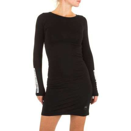 Damen Kleid von Sixth June - noir