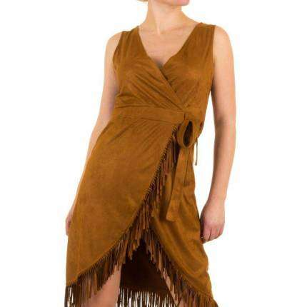 Damen Kleid von Shk Mode - brown