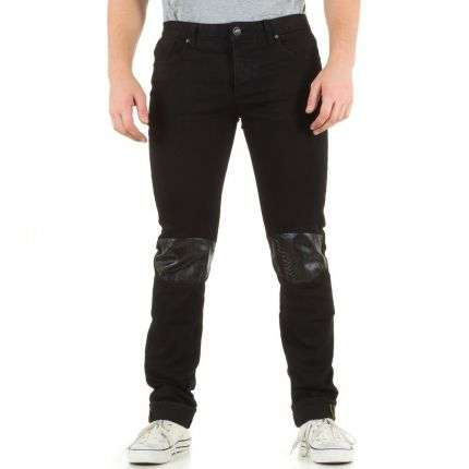 Herren Jeans von Sixth June  - black