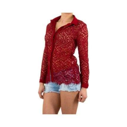 Damen Bluse von Shk Mode - red