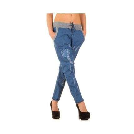 Damen Jeans Gr. one size - blue²