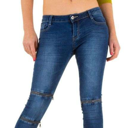 Damen Jeans von Goldenim - blue