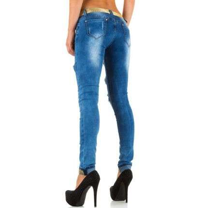 Damen Jeans von Girl Vivi - blue