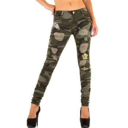 Damen Jeans von Original Denim - armygreen