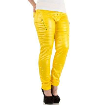 Damen Hose von Le Lys - yellow