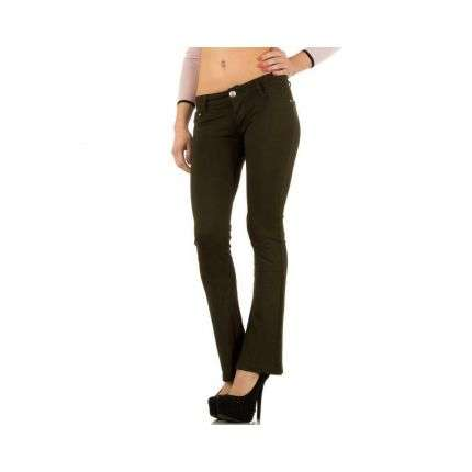 Damen Jeans von Hello Miss - green