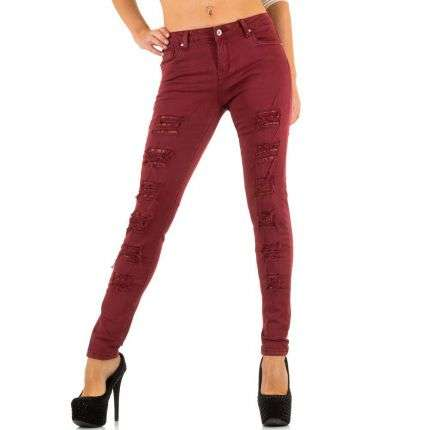 Damen Jeans von Goodies - wine
