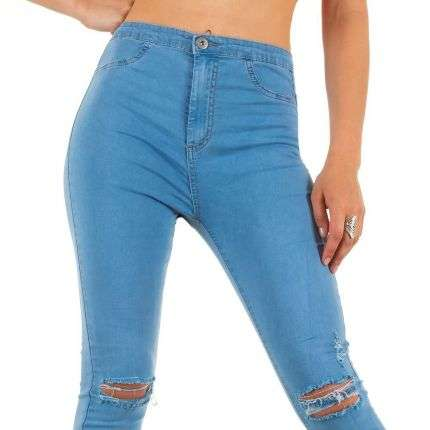 Damen Jeans von Goodies Denim - L.blue