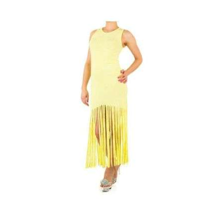 Damen Kleid - yellow