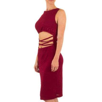 Damen Kleid - red