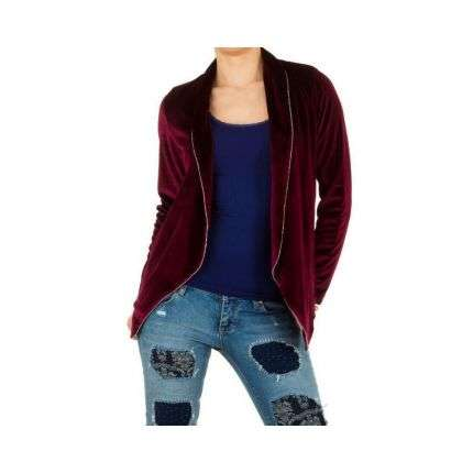 Damen Blazer - wine