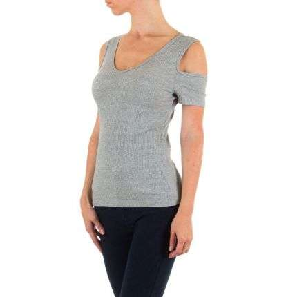 Damen Shirt - grey
