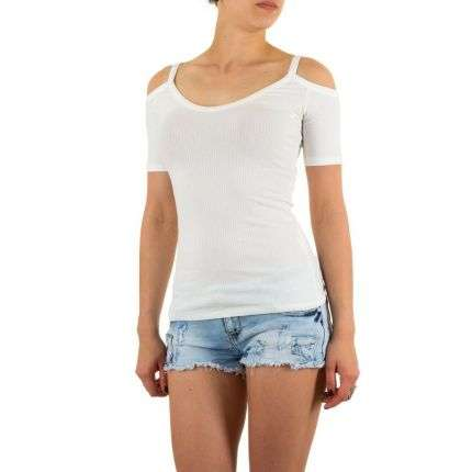 Damen Top - white