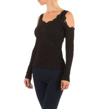 Damen Shirt - black