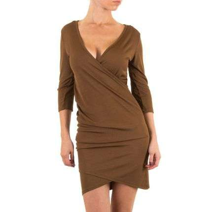Damen Kleid - brown