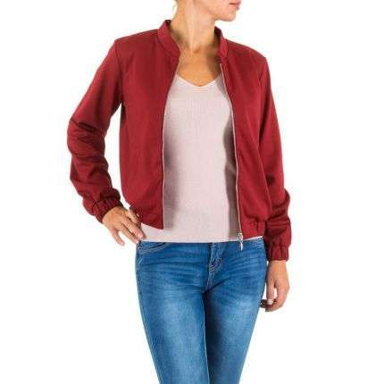 Damen Jacke - bordeaux