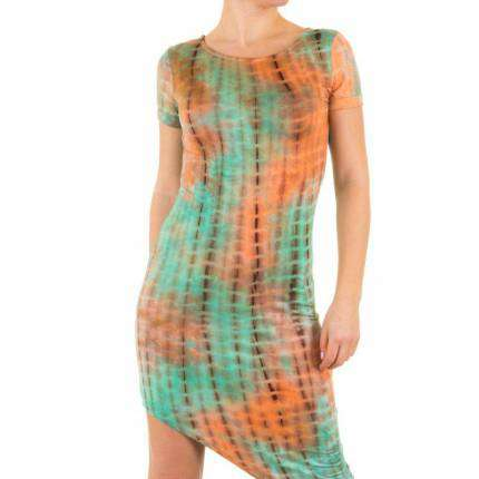 Damen Kleid von Shk Mode - orange