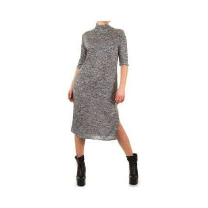 Damen Kleid von Shk Mode Gr. one size - grey