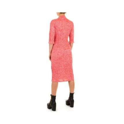 Damen Kleid von Shk Mode Gr. one size - red