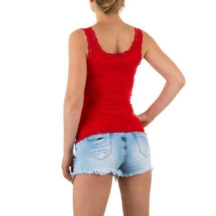 Damen Top Gr. one size - red