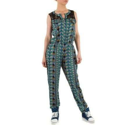 Damen Overall von Shk Mode Gr. one size - green