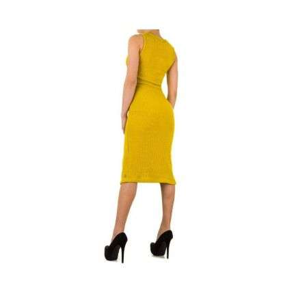 Damen Kleid von Emma&Ashley Gr. one size - yellow