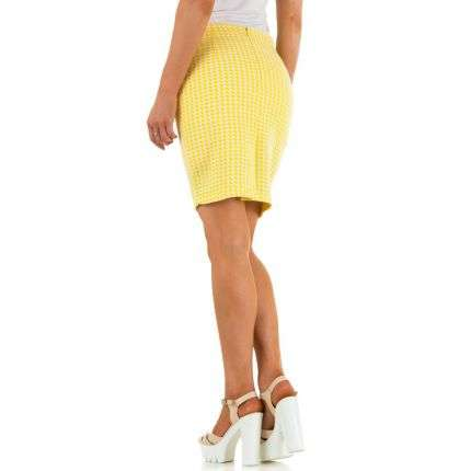 Damen Rock - yellow