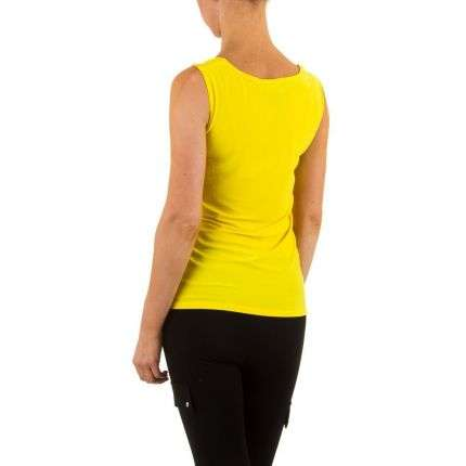 Damen Top von Frank Lyman - yellow