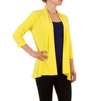 Damen Sweatjacke von Frank Lyman - yellow
