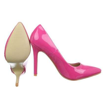 Damen High Heels - fuschia
