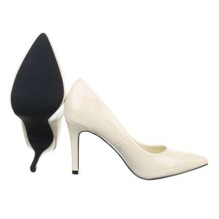 Damen High Heels - offwhite