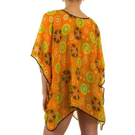 Damen Tunika von Best Fashion Gr. one size - orange