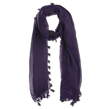 Damen Schal von Best Fashion Gr. one size - violet