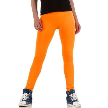 Damen Leggings von Best Fashion Gr. one size - neonorange