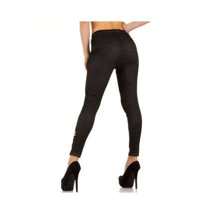 Damen Leggings von Best Fashion Gr. one size - black