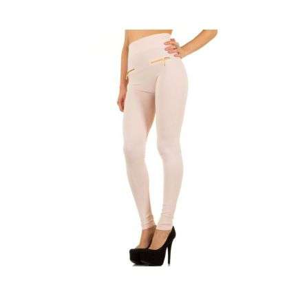 Damen Leggings von Best Fashion Gr. one size - cream