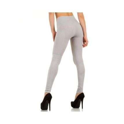Damen Leggings von Best Fashion Gr. one size - L.grey