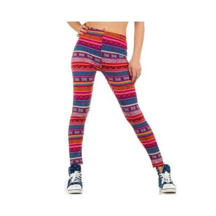 Damen Leggings von Best Fashion Gr. one size - multi